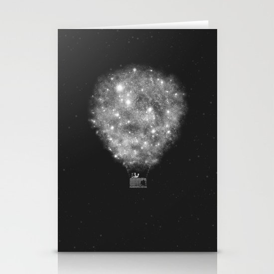 Supernova Sky Ride Stationery Cards