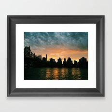 From Queens  Framed Art Print