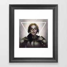 Fading Light.  Framed Art Print