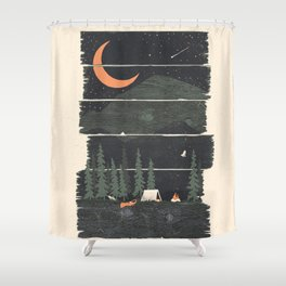 Wish I Was Camping... Shower Curtain