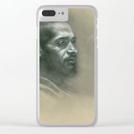 Victory Lap Clear iPhone Case