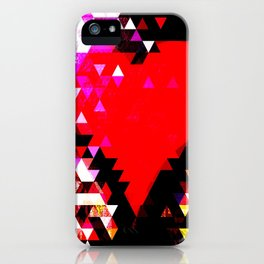 Lead your head with your heart. Don't lead your heart with your head. iPhone Case