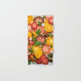 Heirloom Tomatoes Hand & Bath Towel