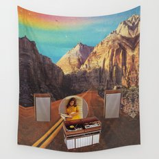 The sound fantasy Wall Tapestry