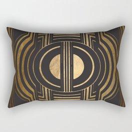 Art Deco Unfinished Love Rectangular Pillow