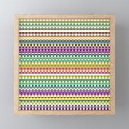 Pattern FG Framed Mini Art Print