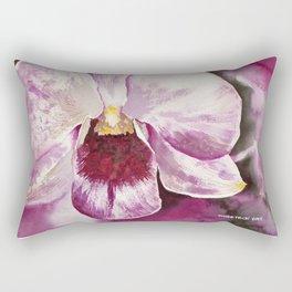 20120424 Orchid Rectangular Pillow