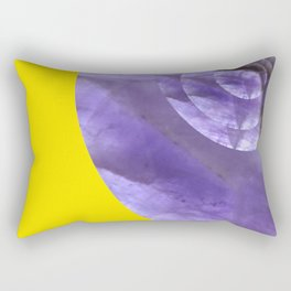 Yellow Mystical Powers of Amethyst #society6 Rectangular Pillow