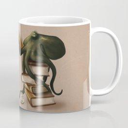 Well-Read Octopus Kaffeebecher