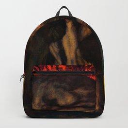 Franz von Stuck - Inferno - Digital Remastered Edition Backpack