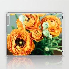Orange ranunculus Laptop & iPad Skin