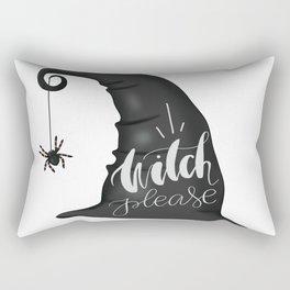 Witch Please Rectangular Pillow