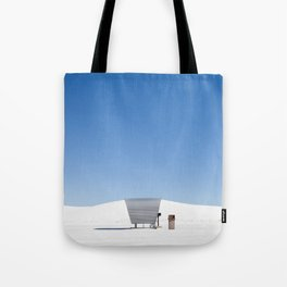 White Sands Picnic Table Tote Bag