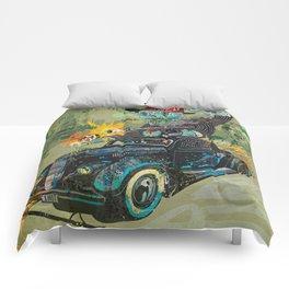 Bootleg Husker Comforters