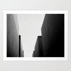 Memorial, Berlin, Germany. Art Print