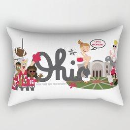 Ohio State Love Rectangular Pillow