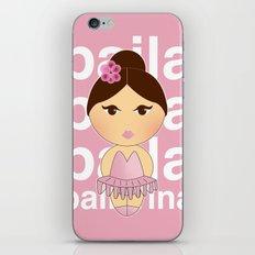 Baila bailarina iPhone & iPod Skin