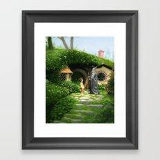 Unwelcome Company Framed Art Print