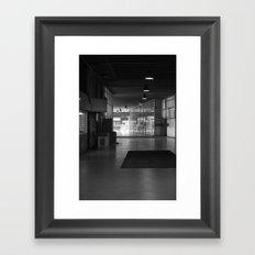 The walkthrough Framed Art Print