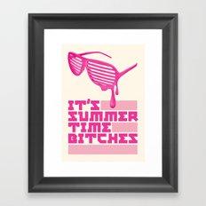 Summer Time. Framed Art Print