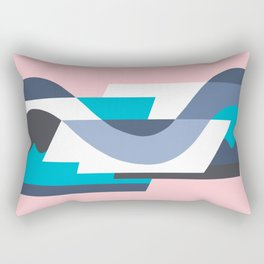 SUISSE - Art Deco Modern: MIAMI DECO Rectangular Pillow