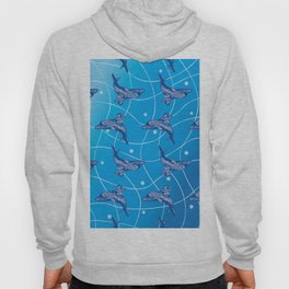 the Angel on the Dolphin on the Wave_B02 Hoody