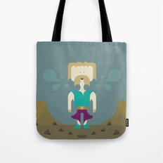 I Fight With Words, Human! Tote Bag
