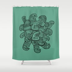 Heads Shower Curtain