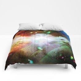 Colliding Worlds Comforters