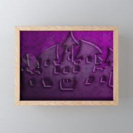 Midnight at castle ruins ... Framed Mini Art Print
