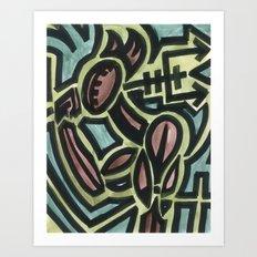 Traveling Hellion Art Print