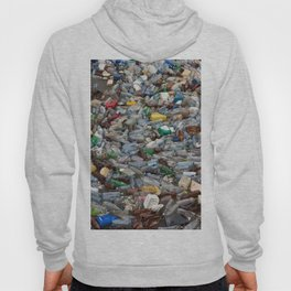 pollution by plastic bottles Hoody