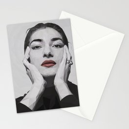 Geometric Callas Stationery Cards