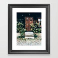 Visby Framed Art Print
