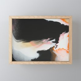 Lava Flow Framed Mini Art Print