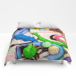 Dinos and Donuts Cake Makeover Comforters