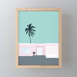Palm Springs Framed Mini Art Print