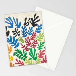 Leaf Cutouts by Henri Matisse (1953) Stationery Cards