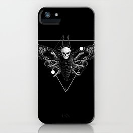God Moth iPhone Case