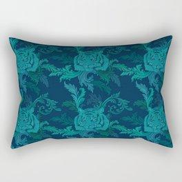 Tiger Greenery Rectangular Pillow