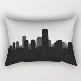 City Skylines: Jersey City Rectangular Pillow