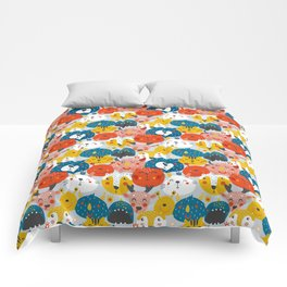 Monsters friends Comforters