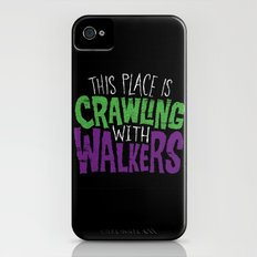 Crawling Walkers Slim Case iPhone (4, 4s)