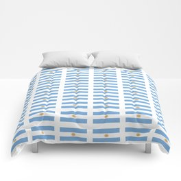 Flag of argentina 2 -Argentine,Argentinian,Argentino,Buenos Aires,cordoba,Tago, Borges. Comforters