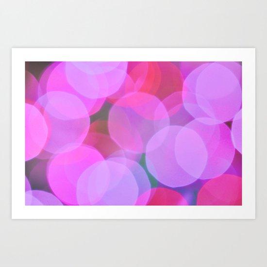 Bubble Love Art Print