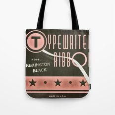 Typewriter Ribbon Tote Bag