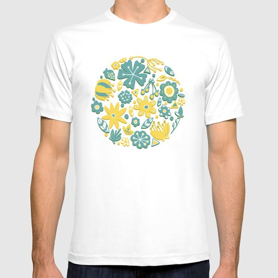 Little Flower Circle T-shirt