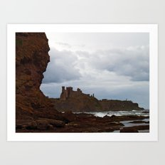 Tantallon Castle Art Print
