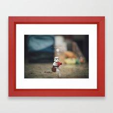 Do Work Son Framed Art Print