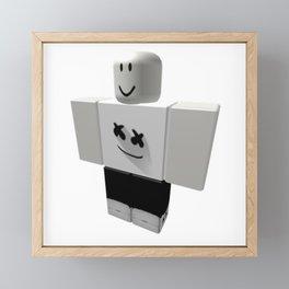 Marshmello Pants Framed Mini Art Print
